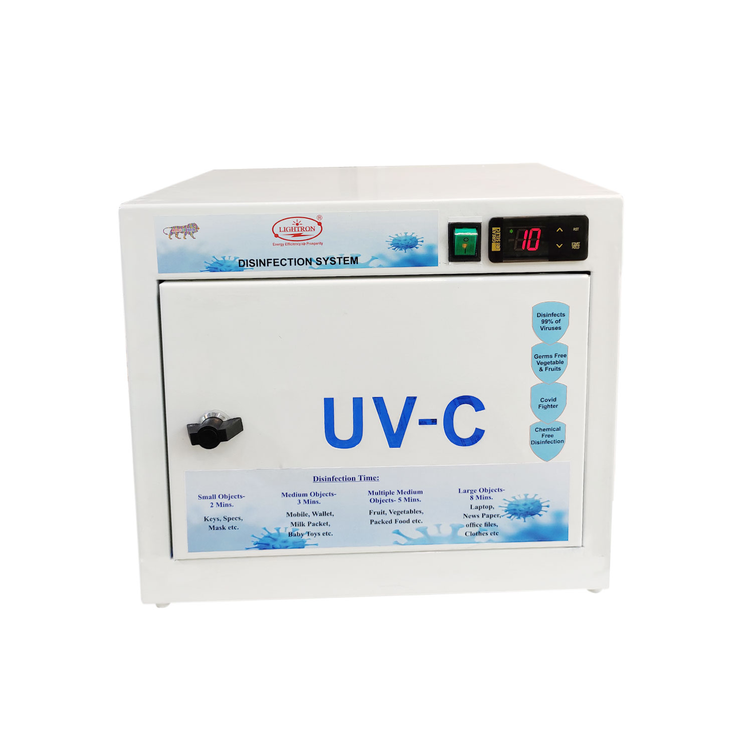 UV-C CORONA DISINFECTION BOX